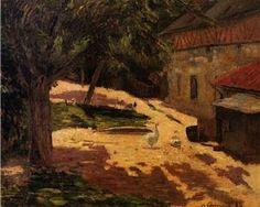 Paul Gauguin 'A Henhouse'