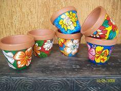 vasinhos lindinhos e coloridos!!