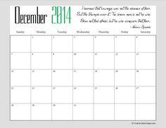 december calendar 2014 - Szukaj w Google