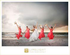 #Wedding #LimelightPhotography #Clearwater #beach #Hyatt #bridesmaids