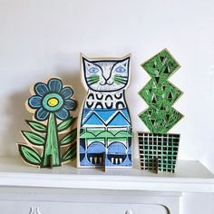 Bold, playful printing onto paper, wood and fabric. by SamGroomPrintmaker Sam Groom, Printmaking, Pride, Etsy Seller, Community, Create, Holiday Decor, Business, Paper