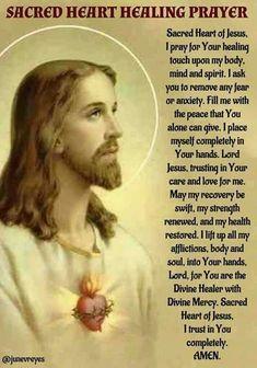 Healing prayer...