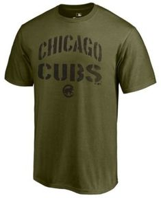 40c2bfe4336 Majestic Men s Chicago Cubs Stencil Wordmark T-Shirt   Reviews - Sports Fan  Shop By Lids - Men - Macy s