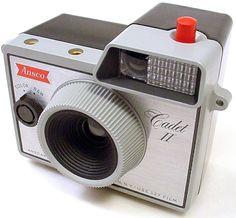 Antique Vintage Retro Classic Camera Ansco Cadet II Clear Lens Glass | eBay