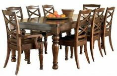 Porter Rectangular Extension Table Dining Set from Ashley Furniture