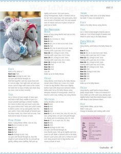 from Craftseller xmas 2014 Alan Dart, Baby Mouse, Knitting Stitches, Pixie, Xmas, Sewing, Pattern, How To Make, Crafts