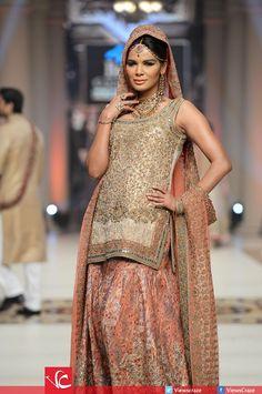 Bridal dress by designer Aisha Imran Pakistan