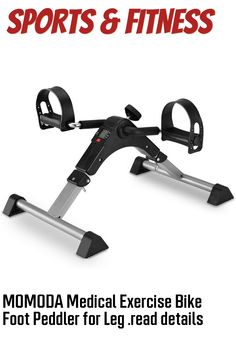 MOMODA Medical Exercise Bike Foot Peddler for Leg and Arm Recovery (This is an affiliate pin) Outdoor Power Equipment, Cardio, Recovery, Arm, Medical, Training, Exercise, Bike, Legs