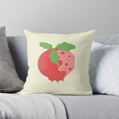Buy Pillows, Throw Pillows, Juicy Fruit, Cozy House, Pomegranate, Original Art, Cushions, Bright, Bed