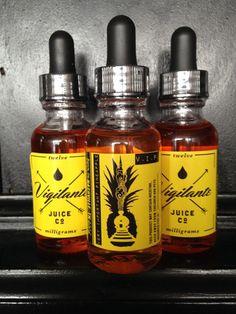 Vigilante Juice Co. - yum! This sight has quite a variety of premium juices!