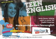 Students tell us why they need Helen Doron Teen English in addition to English classes at school.  #bilingualism