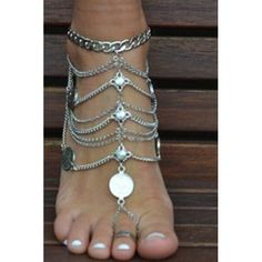 Specification:    Product Details     Gender For Women   Style Punk   Shape/Pattern Others   Length 27CM   Weight 0.120KG   Package Contents 1 x Anklet