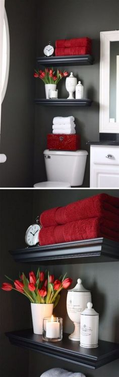 Do you know about the trend for bathroom cabinets, bathroom cabinet organization ? This 'quick fix' for bathroom cabinet ideas makeovers is already set to to be one of the biggest style trends bathroom cabinet makeover of Read Regal Bad, Toilet Storage, Bathroom Storage, Bathroom Shelves, Cabinet Storage, Diy Cabinets, Bathroom Cabinets, Brown Cabinets, Wooden Bathroom