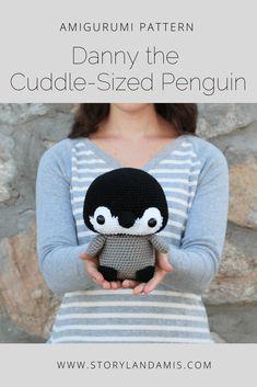 Storyland Amis, Danny the Cuddle-Sized Penguin Amigurumi