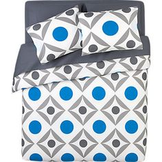 geometric print for bedding