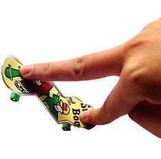 Children's Novelty toys, animation alloy Finger Skateboards, professional Small skateboarding, free shipping