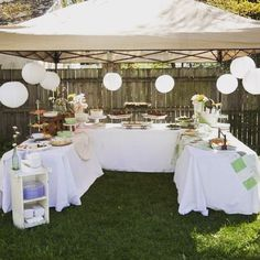 We do party's deco and lots more
