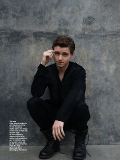 The Untitled Magazine Callan McAuliffe Photography by Jeff Forney