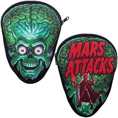 Kreepsville Women's Kreepsville Mars Attacks Trooper Pouch Bag