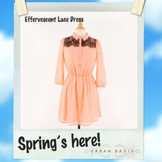 Only available on UrbanBasix.com #spring #dress #cute #love