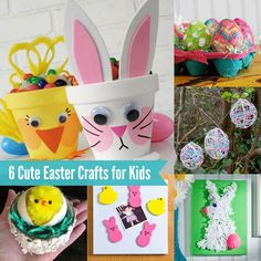 What is cuter than plain old Easter crafts? Why, Easter crafts for kids of course! Children absolutely love crafting for the holidays, and Easter is no exception. Your little ones will love these 8 ideas!