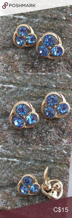 Vintage clipon earrings Beautiful baby blue and gold tone Jewelry Earrings Fine Jewelry, Women Jewelry, Gemstone Earrings, Beautiful Babies, Clip On Earrings, Natural Gemstones, Baby Blue, Rose Gold, Accessories
