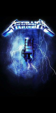 Metallica Album Covers, Metallica Albums, Metallica Art, Rock Posters, Band Posters, Concert Posters, Avenged Sevenfold Wallpapers, Metal Music Bands, Ride The Lightning