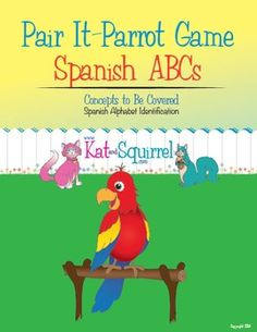 Five love languages at school posters engaging challenging and pair it parrot spanish alphabet fandeluxe Images