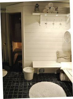 HANNAS: badrum ~ bastu ~ spa (Bastu i källaren...!!! :-)