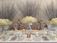 Bobbette and Belle's Winter Bird and Branch Themed Holiday Sweet Table! » bobbetteandbelle.com