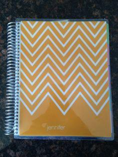 Erin Condren Life Planner - love the yellow
