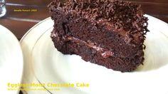 Eggless Moist Chocolate Cake