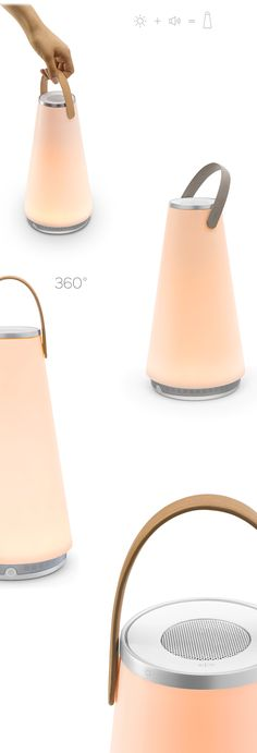 UMA by Pablodesigns. LED doubles as a 360 speaker