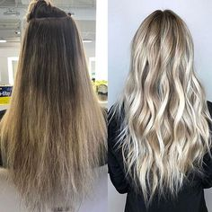 Just Another Makeover Monday  Color by @laurenhairlove  #hair #hairenvy #hairstyles #haircolor #blonde #beforeandafter #makeover #highlights #newandnow #inspiration #maneinterest