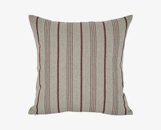 Detmar Stripes Pillow - Red