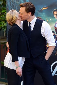 Tom Hiddleston and Scarlett Johansson attend 'The Avengers' photocall at De Russie Hotel on April 21, 2012 in Rome, Italy [HQ] Courtesy of Karo