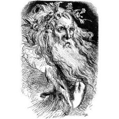 Illustration For King Lear By William Shakespeare. From The Illustrated Library Shakspeare, Published London PosterPrint Arthur Knight, Shakespeare Plays, William Shakespeare, King Lear, Catholic Saints, Roman Catholic, Man Images, Green Man, Gods And Goddesses