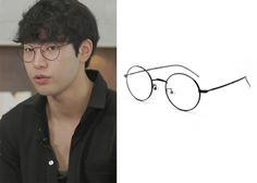 "Park Min-Woo 박민우 on ""Roommate"" Episode 11.  Verris Ball 1 BK Glasses #Roommate 룸메이트 #ParkMinWoo"