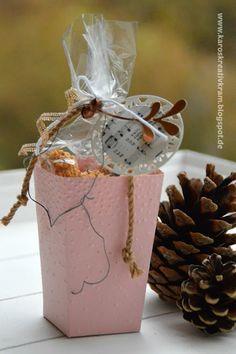Karos Kreativkram: Kleine Verpackung für Pralinen