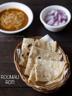 rumali roti recipe with step by step pics. i follow the simplest and easiest method of making rumali roti where the rotis are rolled thin and then cooked on a tawa. these thin soft rotis are thin and can be folded like a handkerchief. hence the name rumali or roomali roti. the word 'rumal' means handkerchief in hindi language.