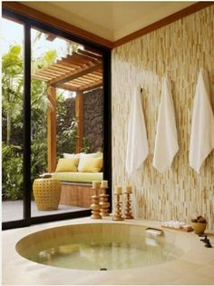 If I was a billionaire where I could have a spa room!
