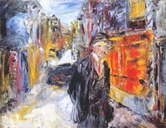 Jack Butler Yeats, Night in a Little Town