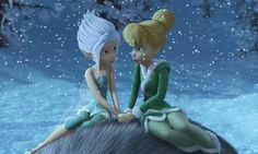 Periwinkle and Tinkerbell