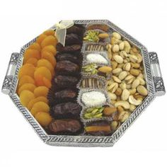 Healthy Snacks Gift Tray to UAE Dry Fruit Tray, Dried Fruit, Florist Supplies, Uae, Healthy Snacks, Cheese, Bouquet, Gifts, Food