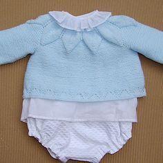 tutorial para hacer Jersey de bebé con dibujo de hojas, baby cardigan knitting, video e instrucciones