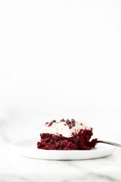 Just Beet It Vegan Gluten-Free Red Velvet Cake   Beets work their magic in this moist, chocolaty, icing-slathered, and crimson-hued cake.