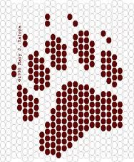 result for Free Beadwork Patterns Native American Wolf Head Native Beading Patterns, Beadwork Designs, Beaded Earrings Patterns, Seed Bead Patterns, Bead Loom Designs, Weaving Patterns, Bead Earrings, Bracelet Patterns, Indian Beadwork