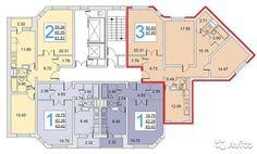 Большая светлая 3-х комнатная квартира по цене двушки. Квартира без отделки. Рядом с домом 2 детских сада, школа, гимназия, т...