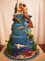 Atlantis Cake view 4 by ~The-EvIl-Plankton on deviantART