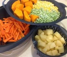 Thermomix Mashed Potato and Steam Veges